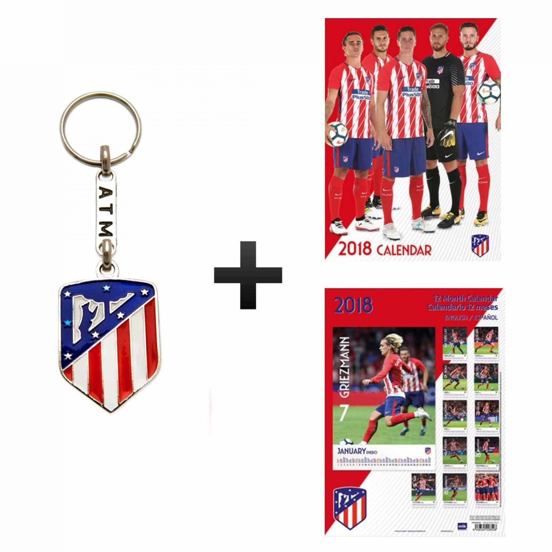 e92655eb Atletico Madrid 2018 Calendar & Keyring Gift Set
