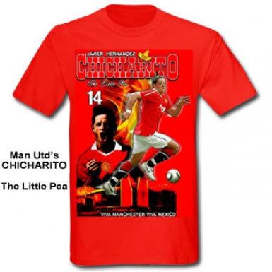Man Utd Javier Hernandez T-Shirt