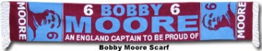 Bobby Moore Legend Scarf