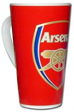 Arsenal FC Crest Latte Mug