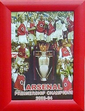 Arsenal Champions Print