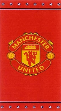 Manchester United Crest Towel
