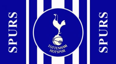 Spurs Flag Official Tottenham Hotspur Flag Spurs Crest