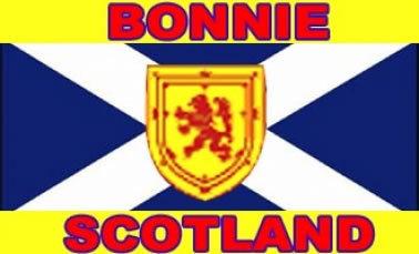 Bonnie Scotland Saltire Flag