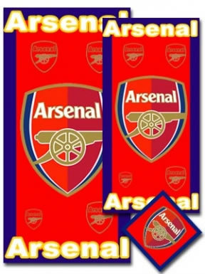 Arsenal FC 3 Piece Towel Set