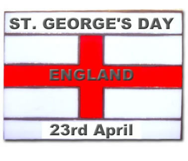 2013 St Georges Day Badge