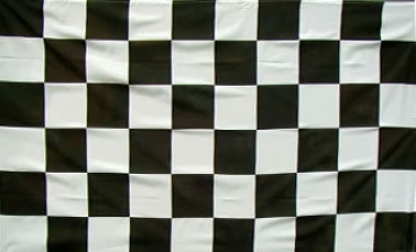 Black & White Flag