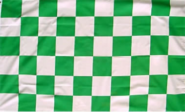 Green & White Flag
