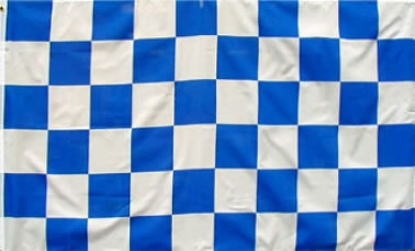 Blue & White Flag