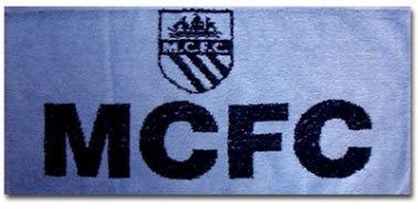 Man City Bar Towel