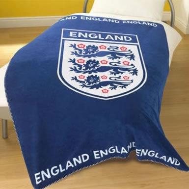 England Fleece Blanket Throw