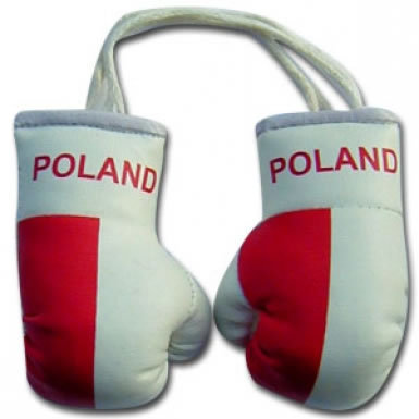 Poland Flag Mini Boxing Gloves