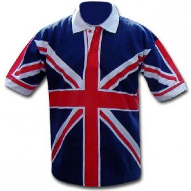 Union Jack Flag Polo Shirt