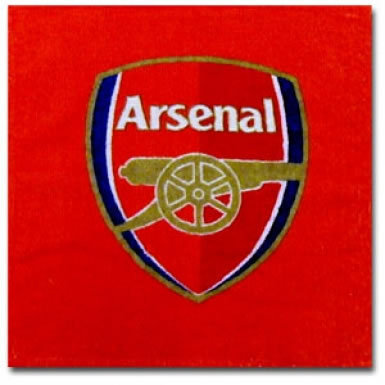 Arsenal FC Crest Face Towel