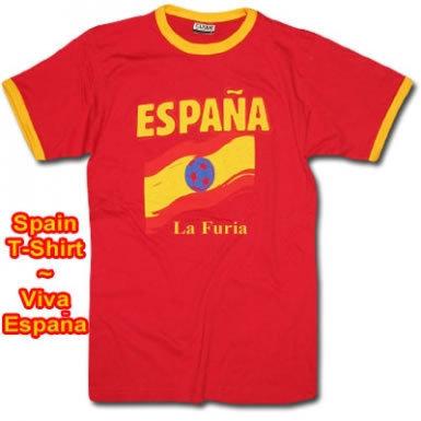 Spain Espana Champions T-Shirt