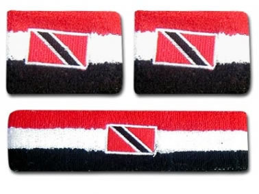 Trinidad & Tobago Flag Wrist Bands