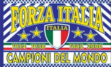 Italy Champions Flag