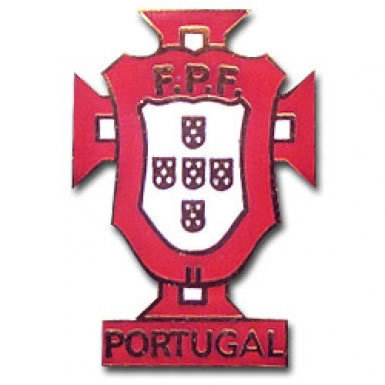 Portugal Football Crest Pin Badge