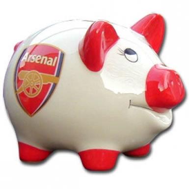 Arsenal FC Crest Piggy Bank