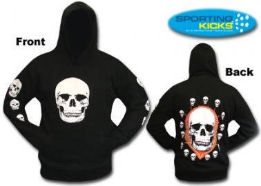 Halloween Kids Skull Hoodie