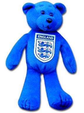 England Crest Beanie Bear
