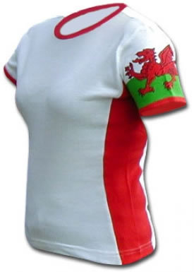 Wales Fitted Tee