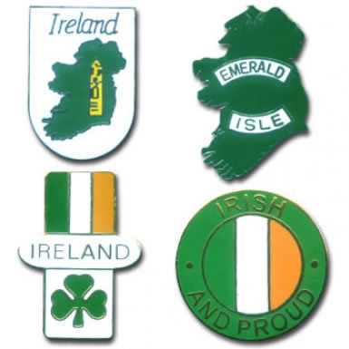 Ireland Badges