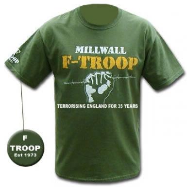 Millwall F-Troop T-Shirt