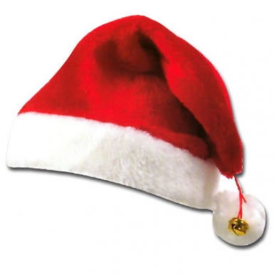 Red & White Santa Hat