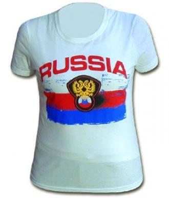 Russia Skinny Fit T-Shirt