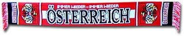 Austria Football Scarf