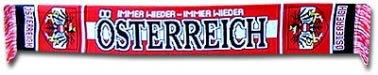 Austria Football Scarf