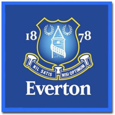 Everton Face Towel