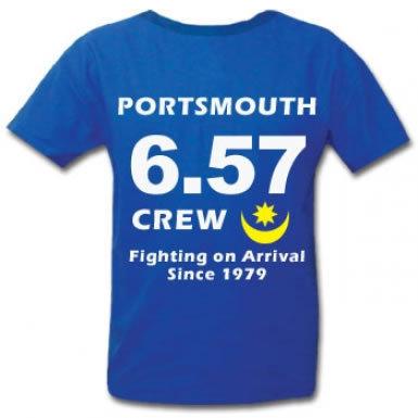 Pompey 657 Crew Hooligans T-Shirt
