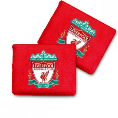 Official Liverpool FC Football Crest Wristbands
