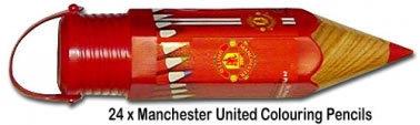 Man Utd Colouring Pencils