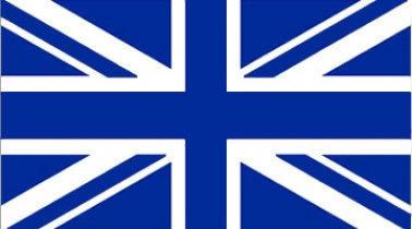 Blue Union Jack Flag 5ft x 3ft