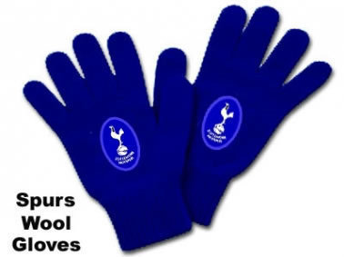 Spurs Crest Wool Gloves