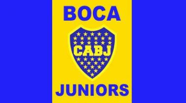 Boca Juniors Crest Flag