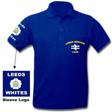 Leeds Service Crew Hooligans Polo Shirt