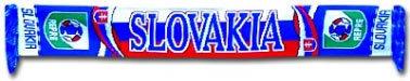 Slovakia Football Scarf