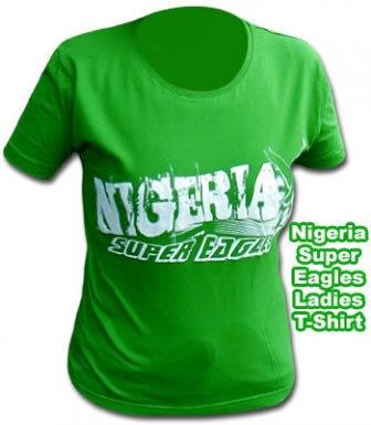 Nigeria Skinny Fit T-Shirt
