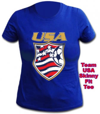 USA Skinny Fit T-Shirt
