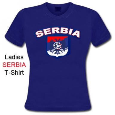 Serbia Crest Skinny Fit