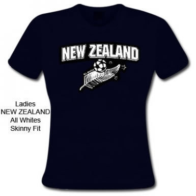 New Zealand Skinny Fit Tee