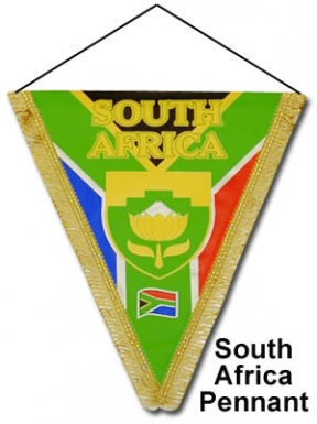 South Africa Pennant