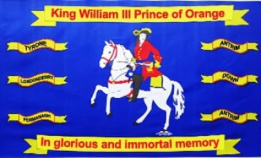 King William Prince of Orange Flag