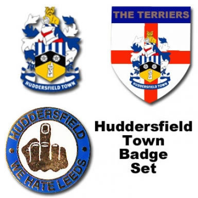 Huddersfield Town Pin Badges