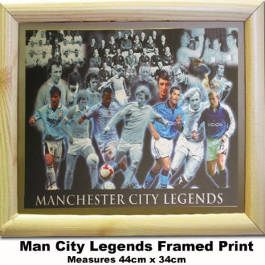 Man City Legends Print