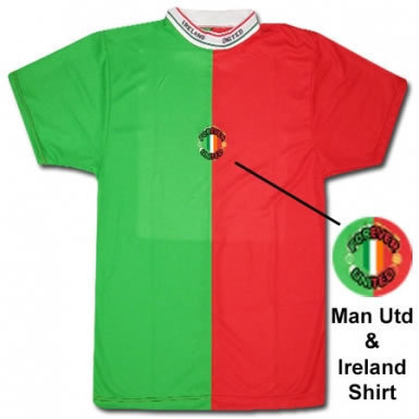 Man Utd & Ireland Shirt